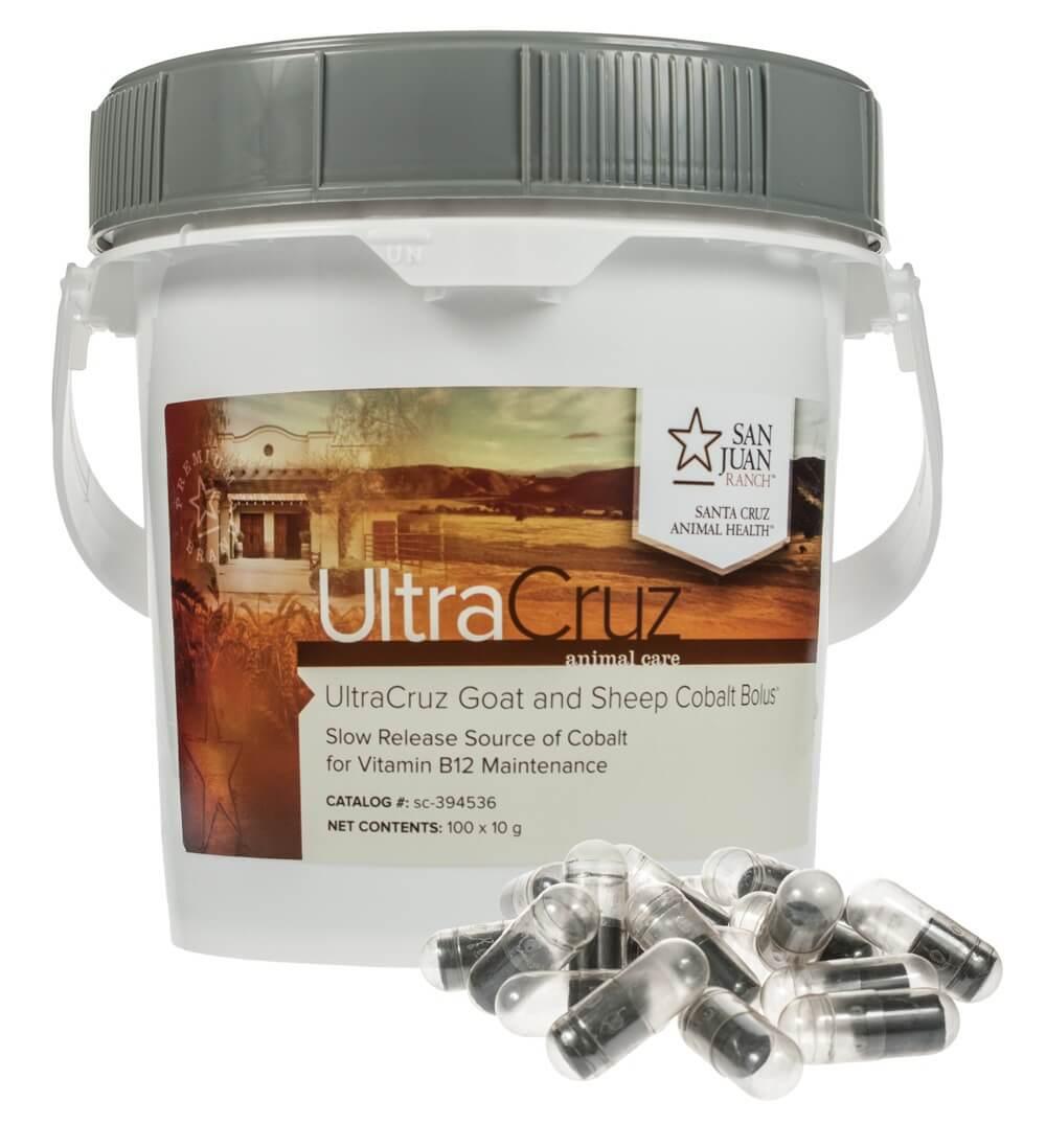 Ultracruz Goat And Sheep Cobalt Bolus Supplement Santa Cruz