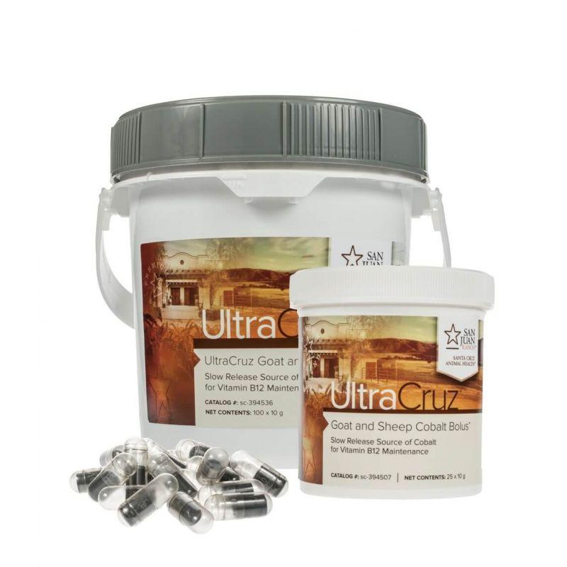 UltraCruz® Goat and Sheep Cobalt Bolus Supplement | Santa