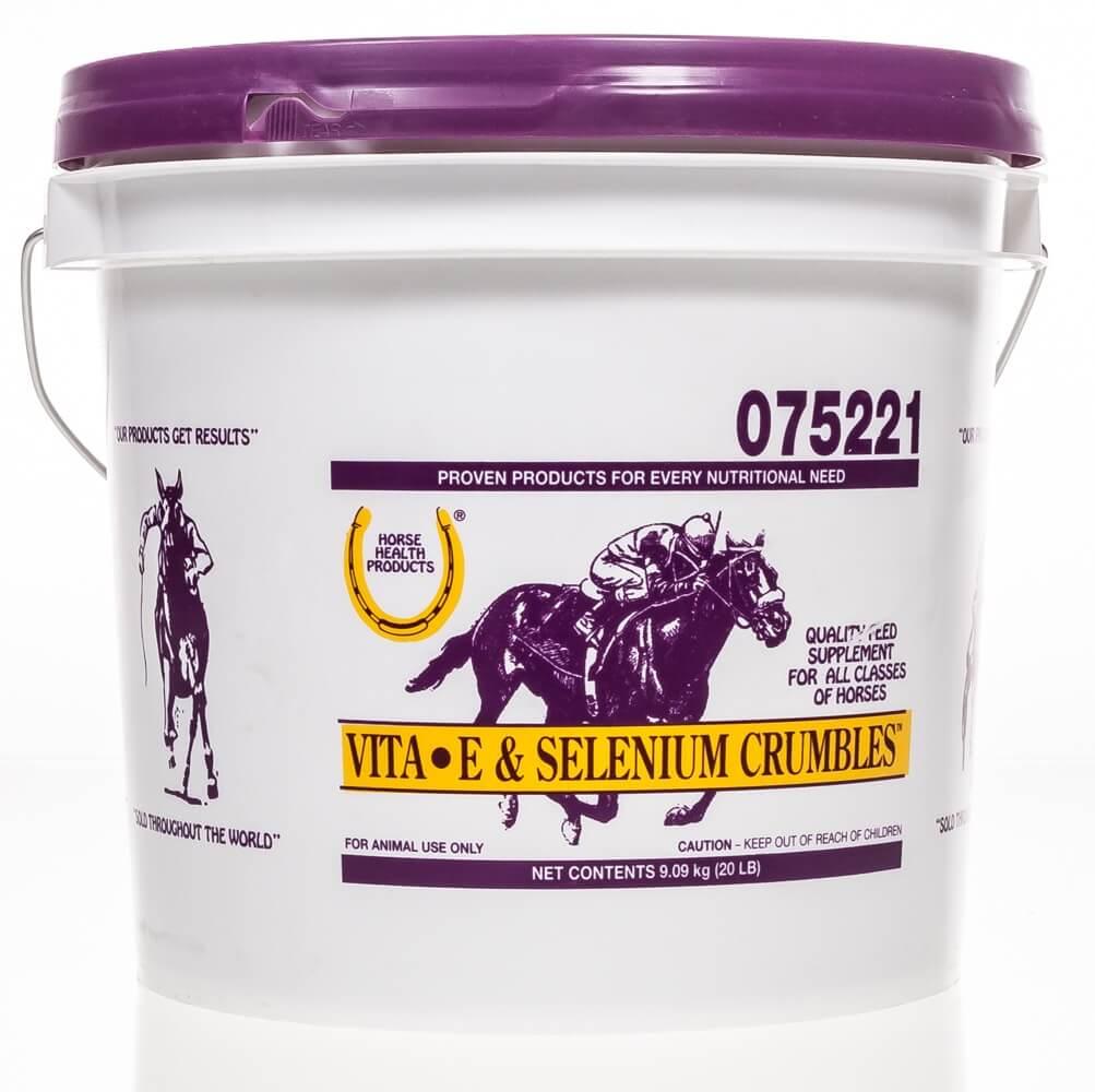 Vita E Amp Selenium Crumbles Santa Cruz Animal Health