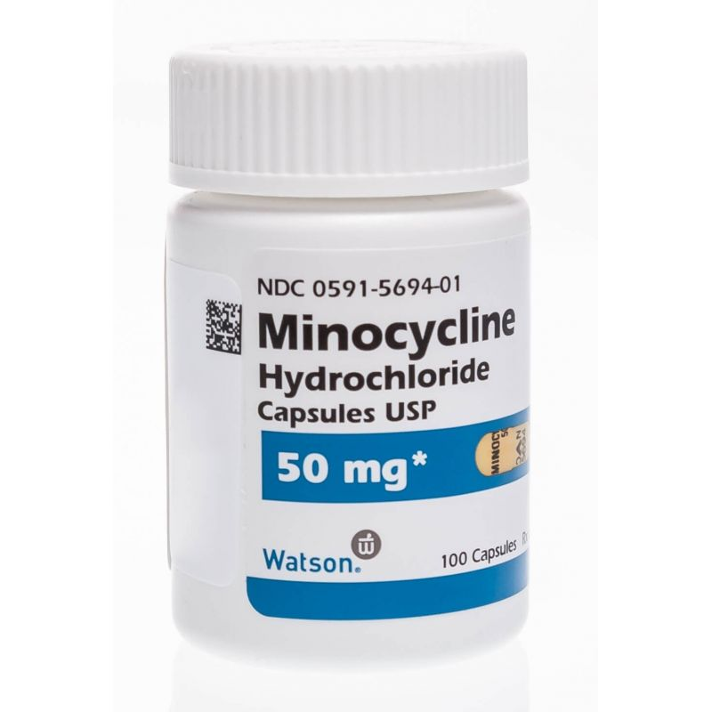 Minocycline Hcl 100mg Cap For Dogs