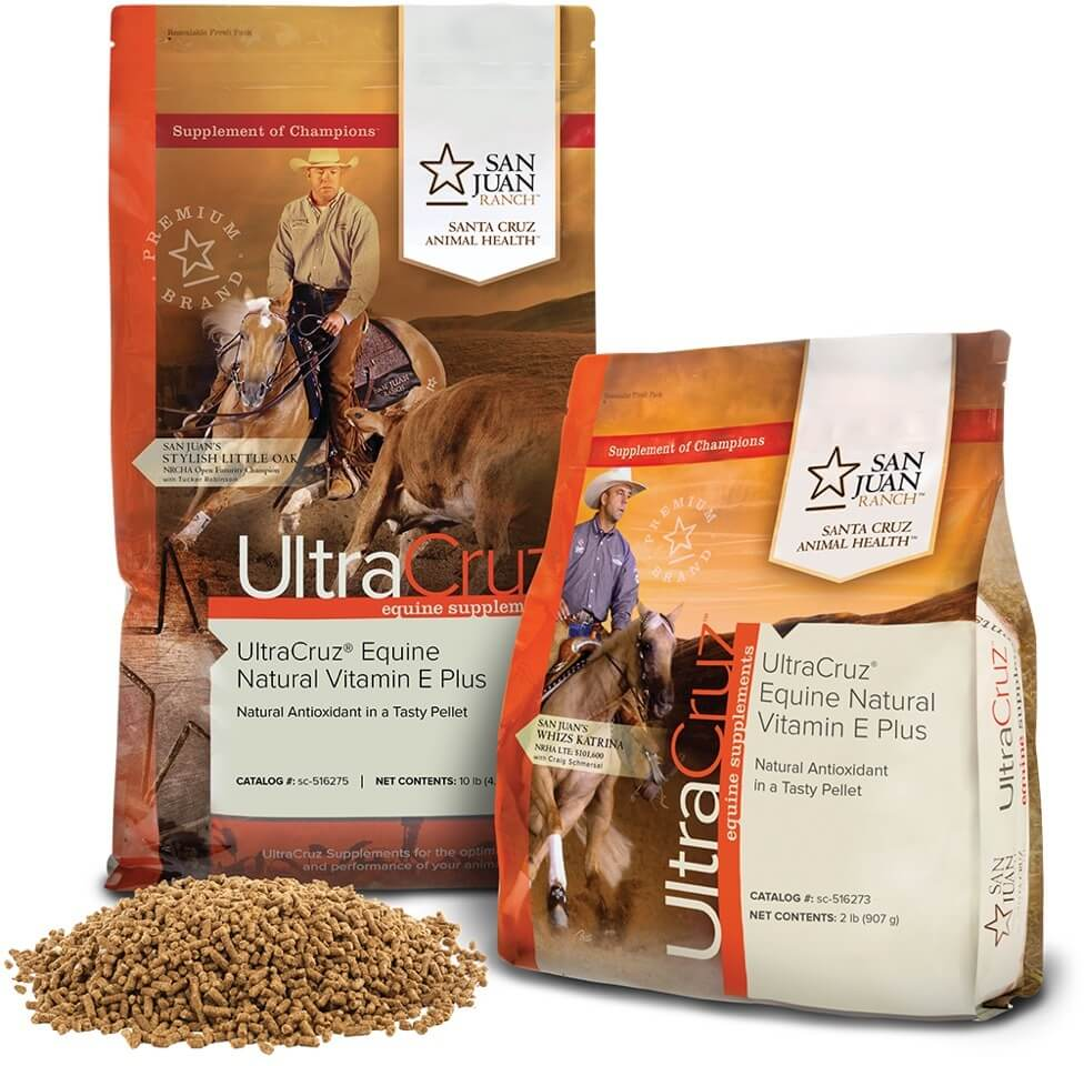 Ultracruz Equine Natural Vitamin E 174 Plus Santa Cruz