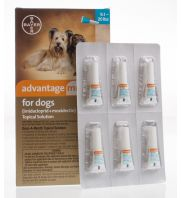 Advantage Multi for Dogs, Brown, 88.1-110 pounds, 6 count