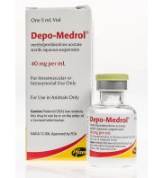 DEPO-MEDROL (methylprednisolone acetate), 20 ml