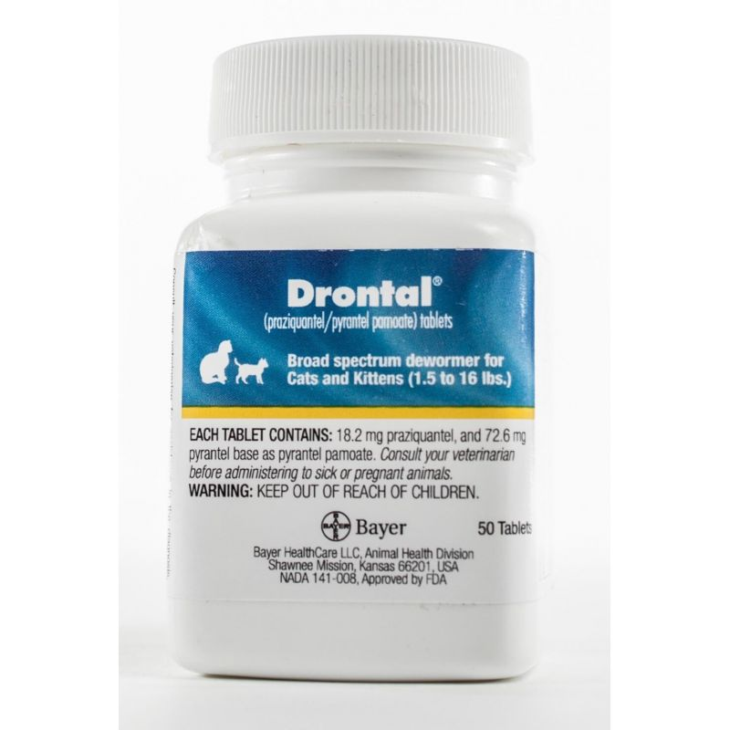 Drontal For Cats Santa Cruz Animal Health