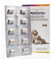 Drontal Plus Taste Tabs for Dogs, Small Dog, 40 per box