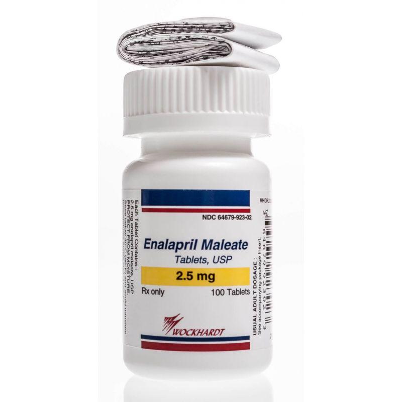 Enalapril maleate 10 mg tab