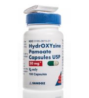 Hydroxyzine Pamoate Capsules 50 mg, 100 ct: sc-363044Rx...