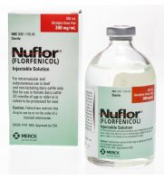 Nuflor Injectable Solution 300 mg/ml, 100 ml