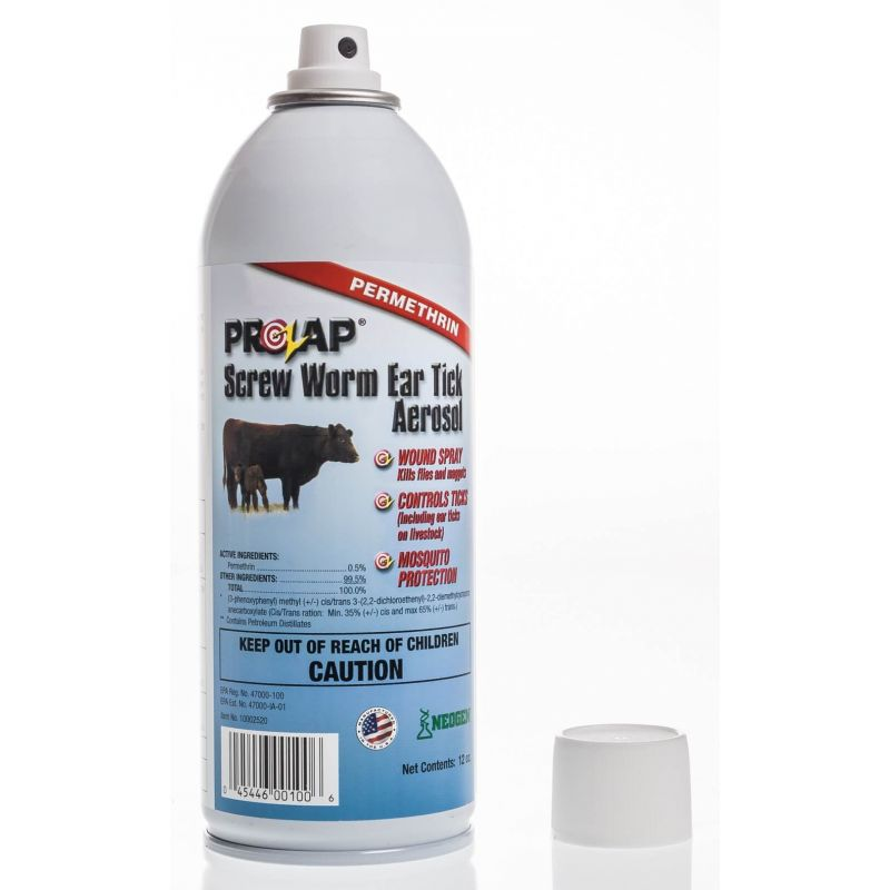 Prozap® Screw Worm and Ear Tick Aerosol | Santa Cruz Animal