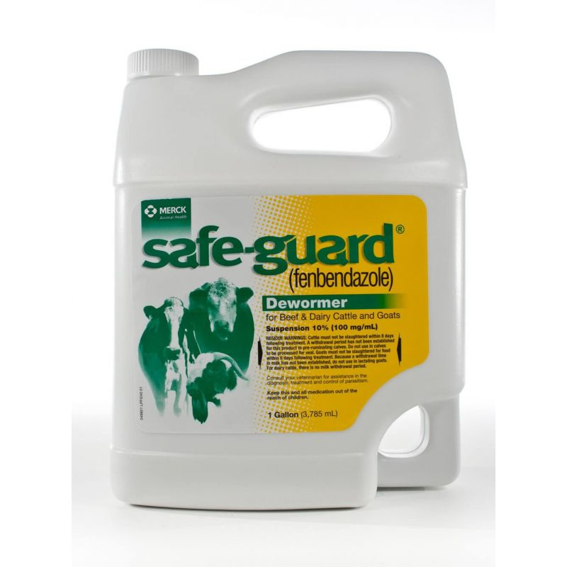 Safe-Guard® Dewormer for Beef/Dairy Cattle and Goats | Santa