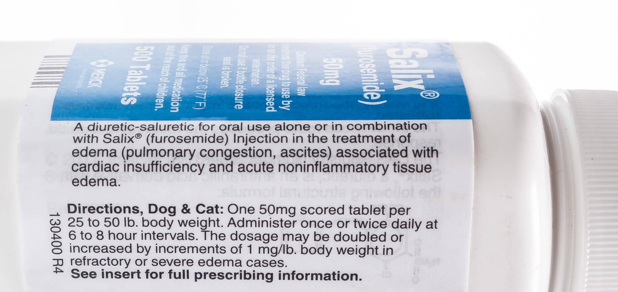 Salix 174 Furosemide Tablets Santa Cruz Animal Health