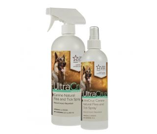 Ultracruz Canine Natural Flea And Tick Spray For Dogs Santa Cruz