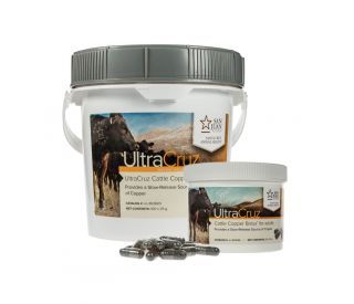 Ultracruz Cattle Copper Bolus Supplement Santa Cruz Animal Health