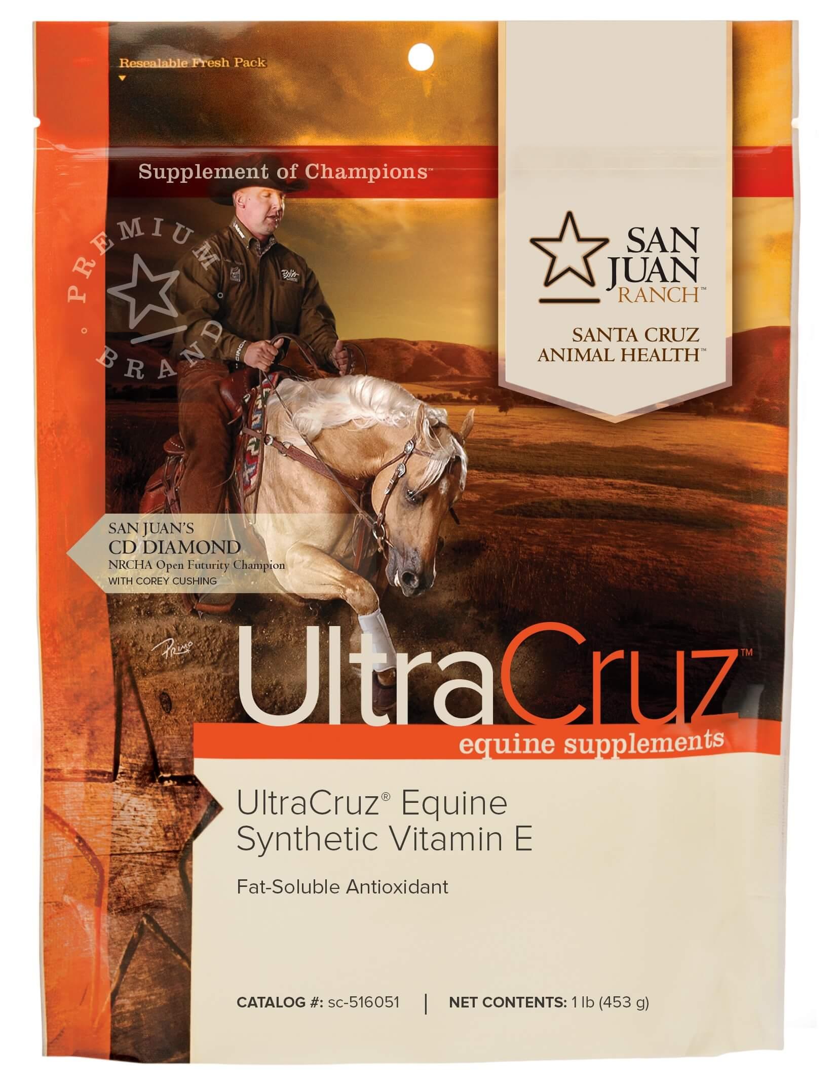 Ultracruz 174 Equine Synthetic Vitamin E Santa Cruz Animal