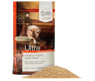 Ultracruz 174 Equine Garlic Flakes Santa Cruz Animal Health