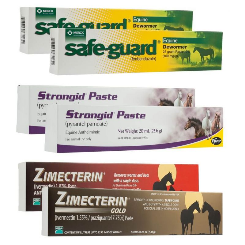 UltraCruz® Premium One-Year Equine Dewormer Pack | Santa