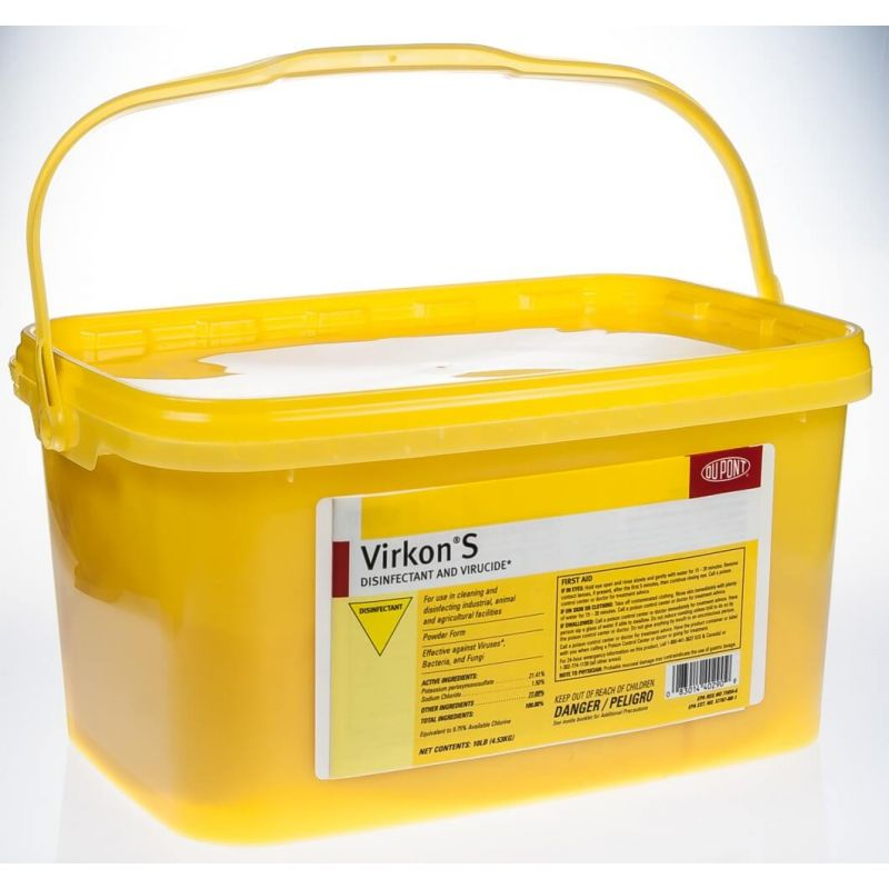 LANXESS Virkon S Disinfectant and Virucide 10 lbs.